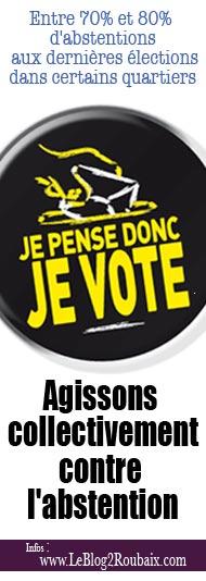 je pense donc je vote - bannière
