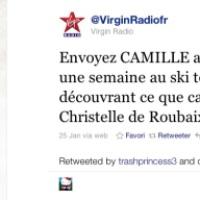 Un arbre pour Christelle de Roubaix, la nouvelle star de Virgin Radio !