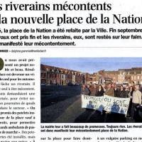 """NE : """"les riverains mécontents de la place de la Nation"""" à Roubaix"""