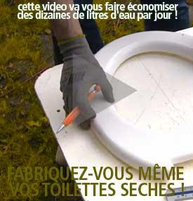 Fabriquez vos toilettes seches !