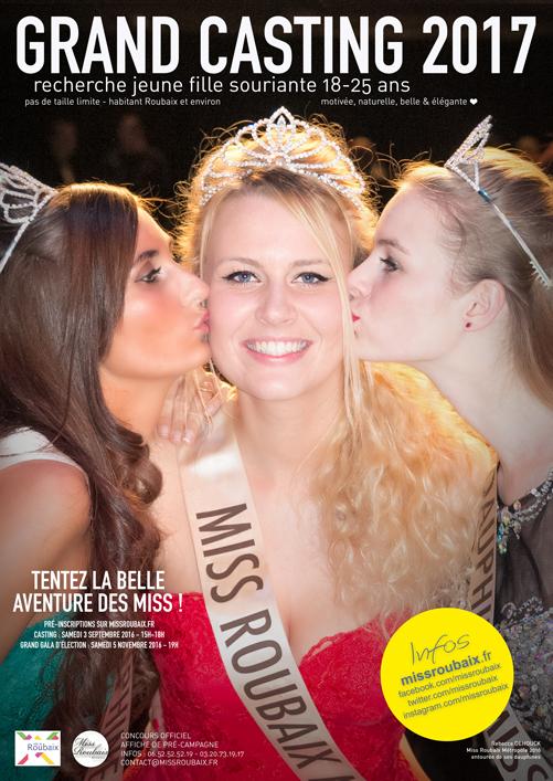 Casting Miss Roubaix Métropole 2017