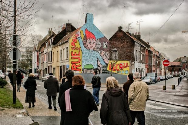 fresque Hollevout Roubaix