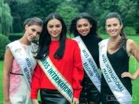 Retour à la Villa, avec la nouvelle Miss International Belgique 2017, Virginie Philippot