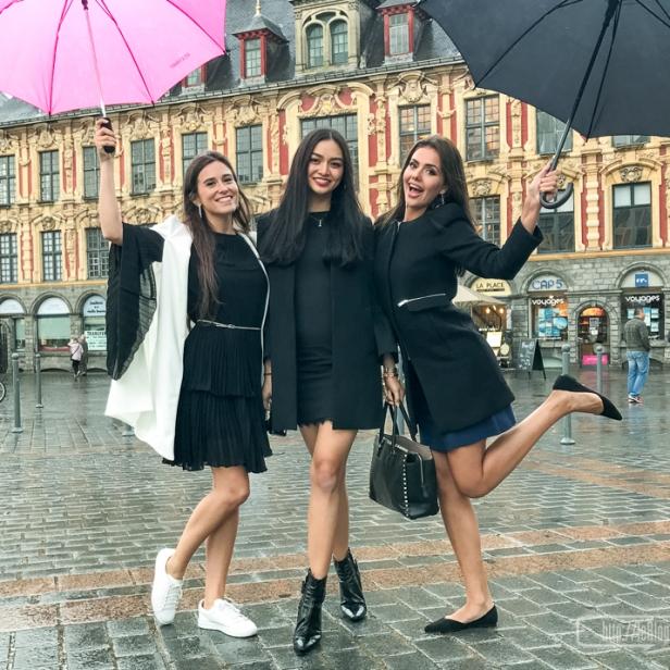 Une petite visite devant l'ancienne bourse de Lille.