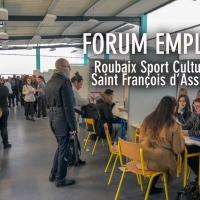 #984 Forum de l'emploi au lycée Saint François d'Assise : de réelles embauches à la clé.