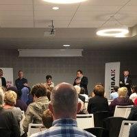 [Photos] Visite du nouveau collège Albert Samain et réunion avec le maire de Roubaix, Guillaume Delbar