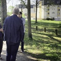 Le Maire visite le quartier de l'Hommelet (photos)