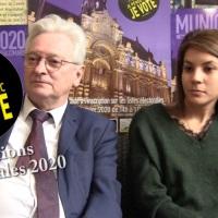 """#1003 Municipales Roubaix 2020 : Rencontre avec André Renard et Sarah Haddi, candidats de la liste : """"Allez Roubaix"""""""