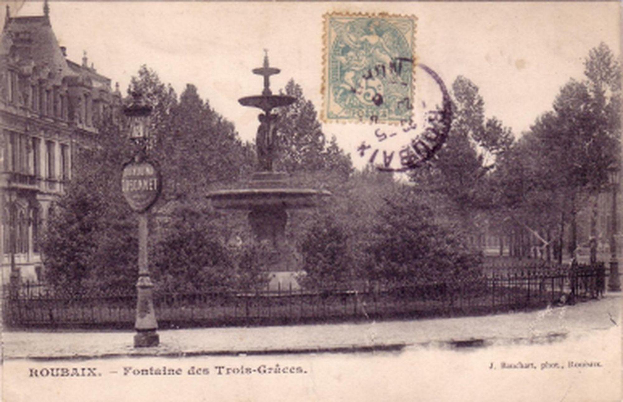 Aux_alentours_du_boulevard_Gambetta_-_Fontaine_des_trois_grâces_1