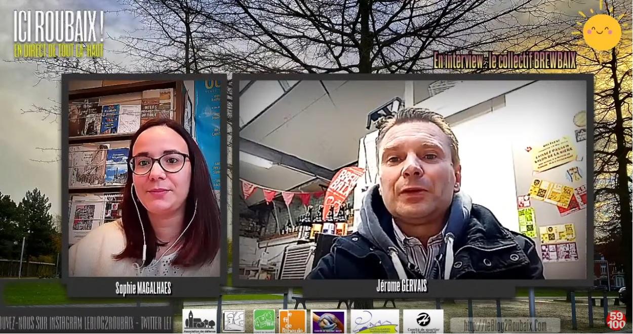 ICI Roubaix : Le Brewbaix, le collectif des micro-brasseurs roubaisiens.