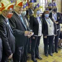 La Confrérie Carnavalesque Roubaisienne intronisait, samedi, en présence des Miss Roubaix !